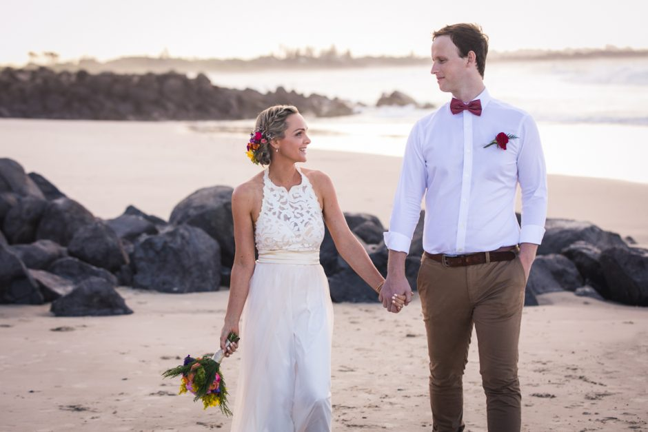 best wedding photographer Byron bay